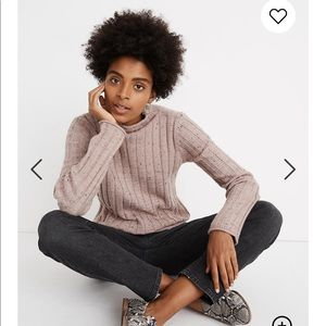 MADEWELL Donegal Evercrest Turtleneck Sweater S